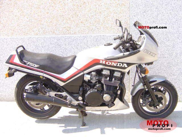 Honda CBX 750 F 1984 photo