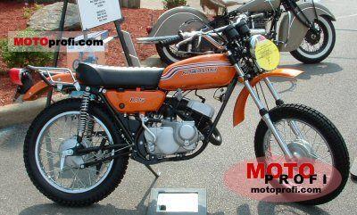 Kawasaki 125 F 6 1972 photo