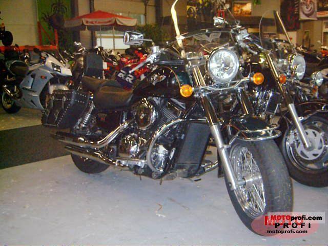Kawasaki VN 1500 Classic Fi 2002 photo