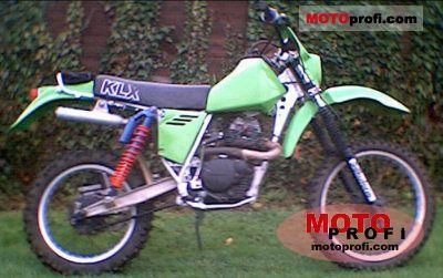 Kawasaki KLX 250 1981 photo