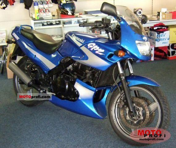 Kawasaki GPZ 500 S 2001 photo