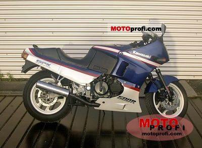 Kawasaki GPX 600 R 1990 photo