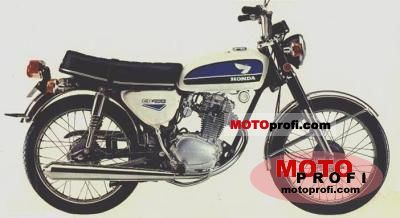 Honda CB 100 1972 photo
