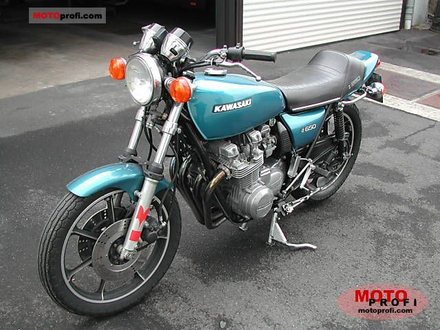 Kawasaki Z 650 1978 photo