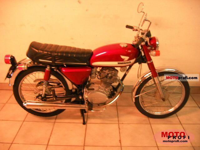 Honda CB 100 1974 photo