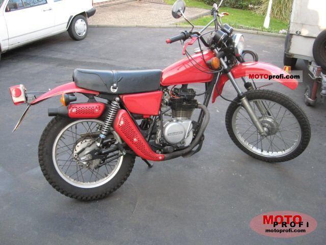 Kawasaki KL 250 1978 photo