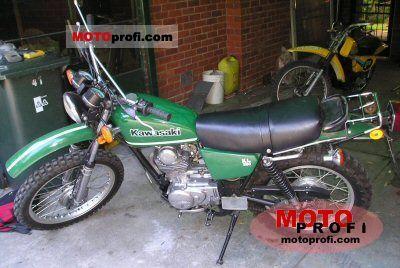 Kawasaki KL 250 1979 photo