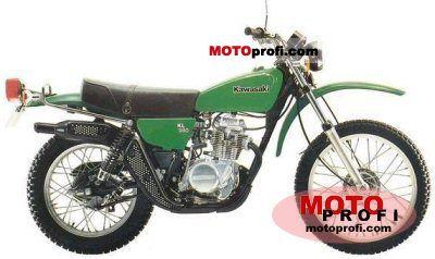 Kawasaki KL 250 1981 photo