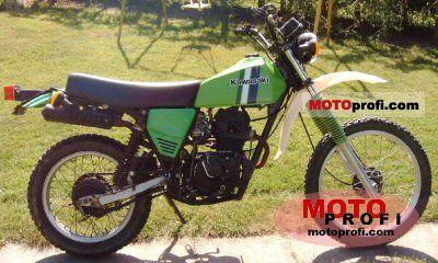 Kawasaki KL 250 1983 photo