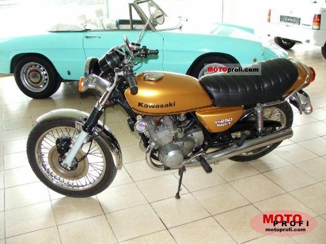 Kawasaki KH 250 1977 photo