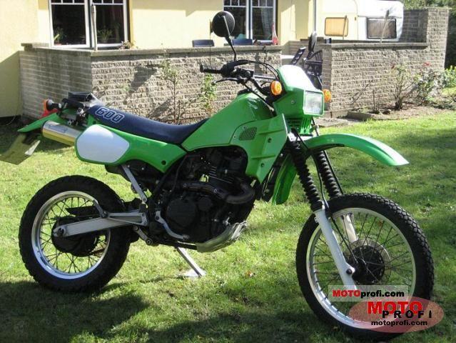 Kawasaki KLR 600 1984 photo