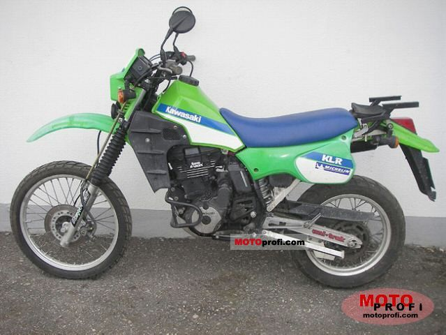 Kawasaki KLR 600 1985 photo