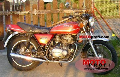 Kawasaki Z 400 B 1978 photo