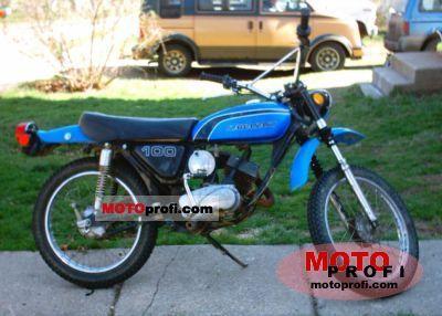 Kawasaki 100 G 7 T 1973 photo