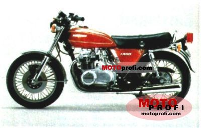 Kawasaki Z 400 1974 photo
