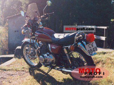 Kawasaki Z 400 1975 photo