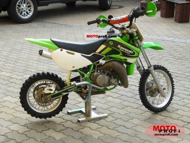 Kawasaki KX 65 2002 Specs and Photos