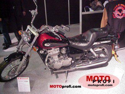 Kawasaki 2000 Vulcan. Kawasaki EN 500 Vulcan 2000