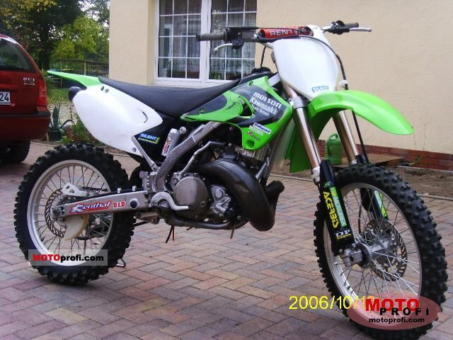 Kawasaki Kx 250 2005 Specs And Photos