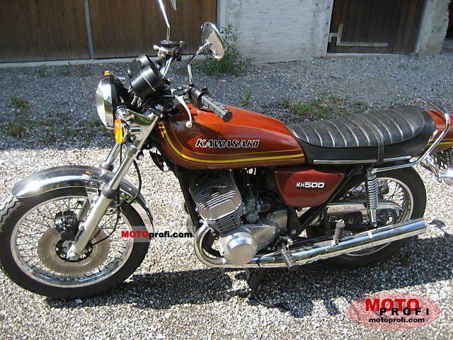 Kawasaki KH 500 1976 photo