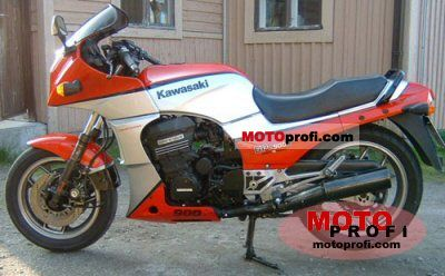 Kawasaki GPZ 900 R (reduced effect) 1984 photo
