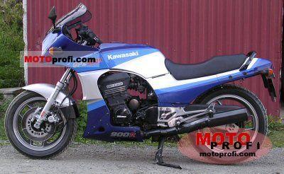 Kawasaki GPZ 900 R (reduced effect) 1986 photo