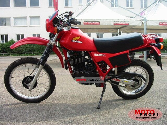 Honda XL 500 R 1984 photo