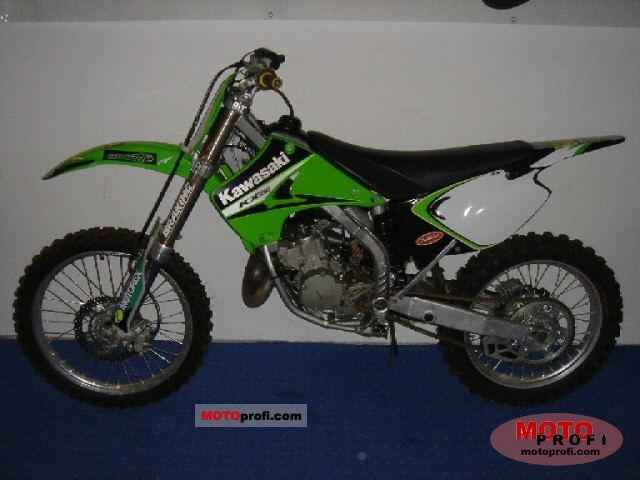 Superb Kawasaki Kx 125 2005 Specs And Photos Pabps2019 Chair Design Images Pabps2019Com