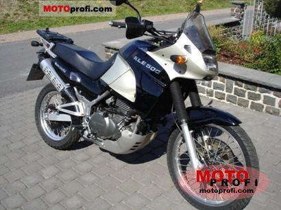 Kawasaki KLE 500 2002 photo