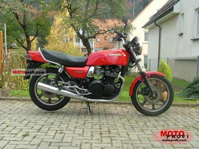 Kawasaki Z 1000 J 1981 photo