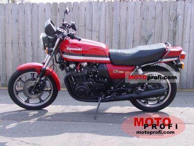 Kawasaki GPZ 1100 F 1 1981 photo