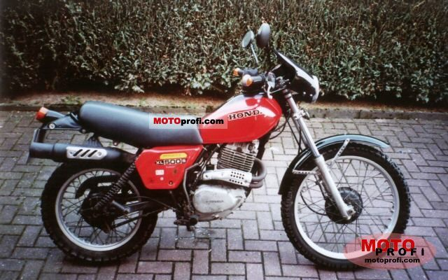 Honda XL 500 S 1980 photo