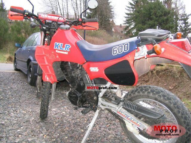 Kawasaki KLR 600 E 1985 photo