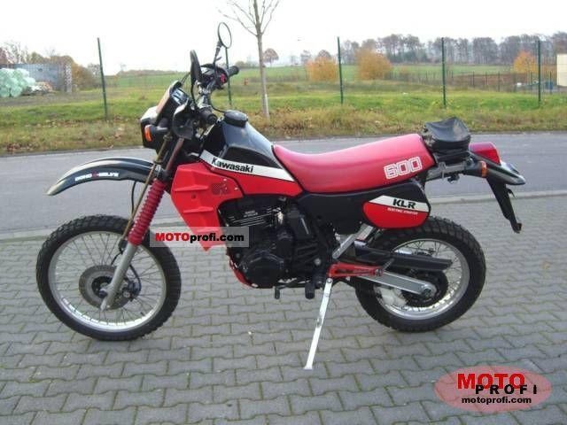 Kawasaki KLR 600 E 1989 photo