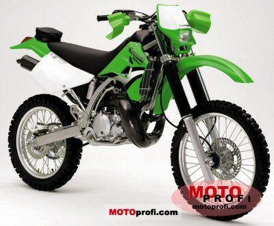 Kawasaki KDX 220 R 2005 photo