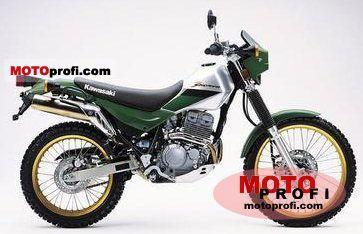 Kawasaki KL250-G5 Super Sherpa 2001 photo