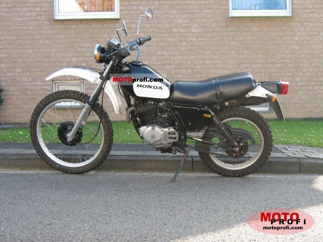 Honda XL 500 S 1981 photo