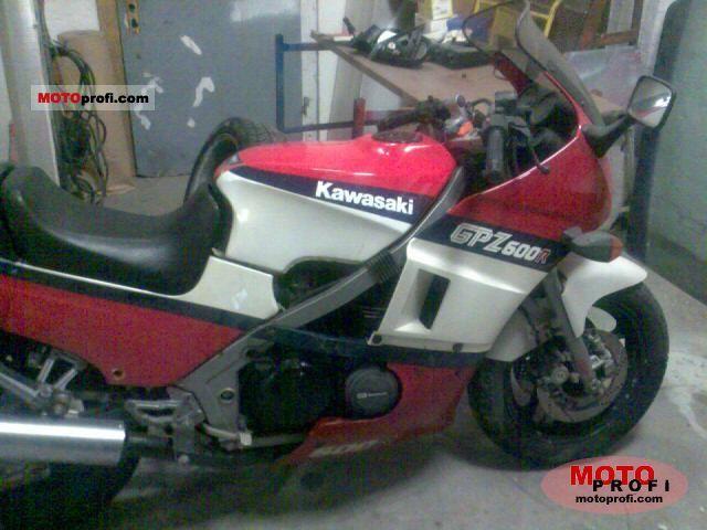 Kawasaki GPZ 600 R 1987 photo