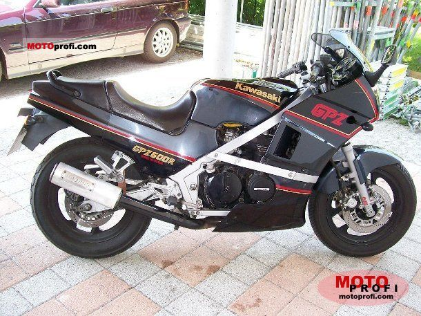 Kawasaki GPZ 600 R 1988 photo