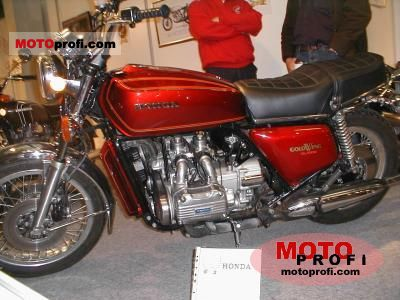 Honda GL 1000 Gold Wing 1975 photo