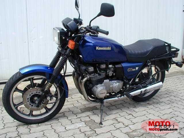 Kawasaki Z 550 GT 1986 photo