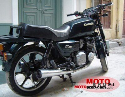 Kawasaki Z 550 GT 1988 photo