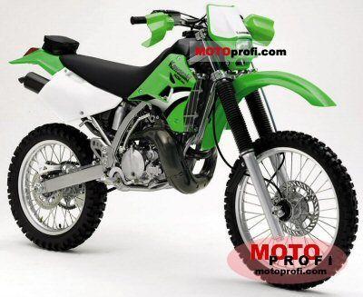 Kawasaki KDX 200 2005 photo