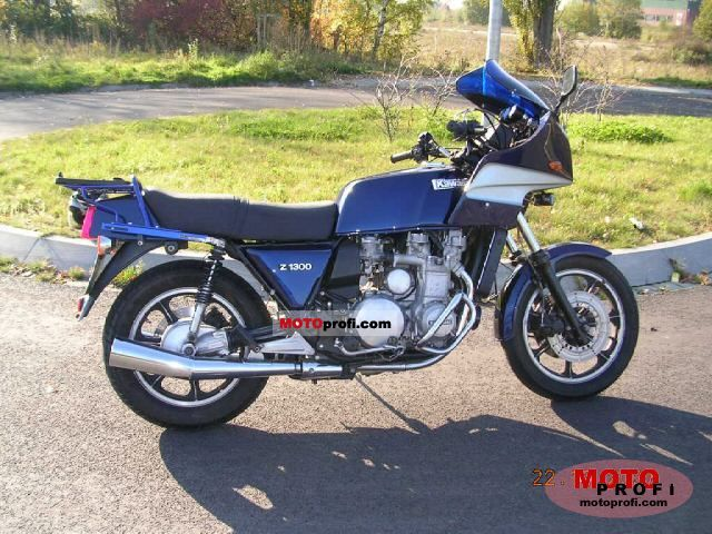 Kawasaki Z 1300 1981 photo
