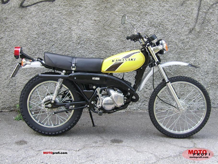 1978 kawasaki ke125  2 stroke