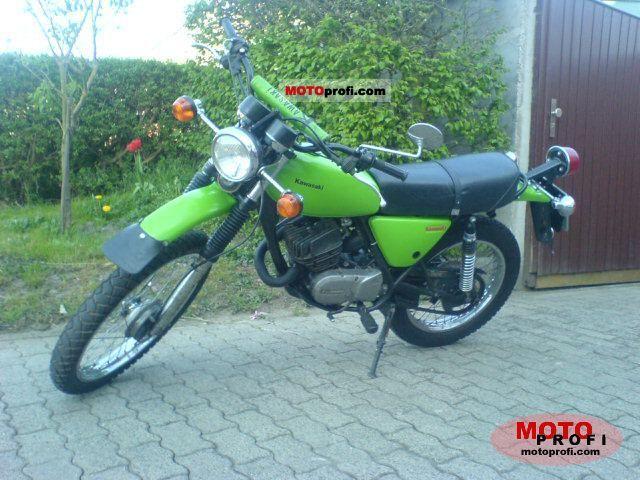 Kawasaki KE 125 1979 photo