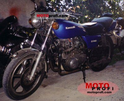 Kawasaki Z 440 C 1981 photo