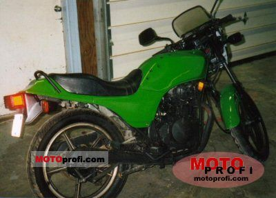 Kawasaki GPZ 305 Belt Drive 1987 photo