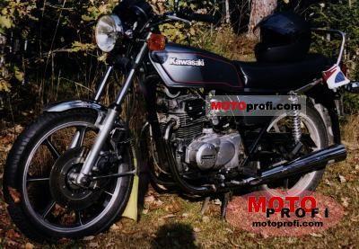 Kawasaki Z 250 A 1980 photo