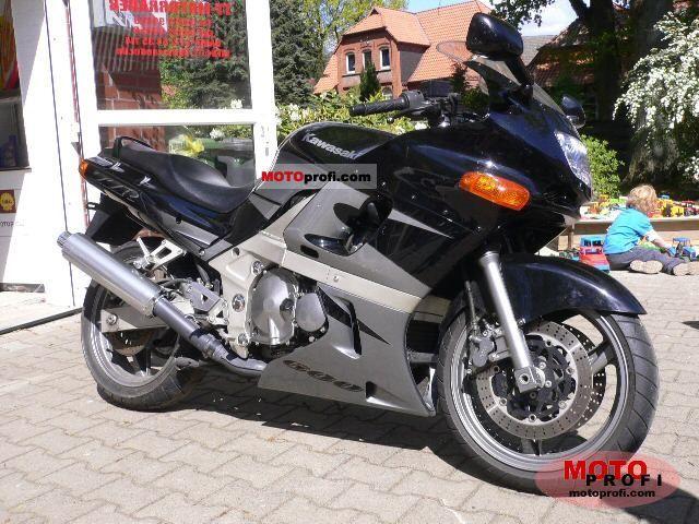 Kawasaki ZZR 600 1998 Photo